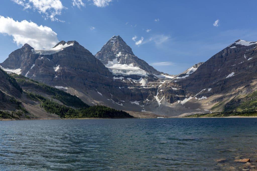 Lake Magog with Mount Assiniboine