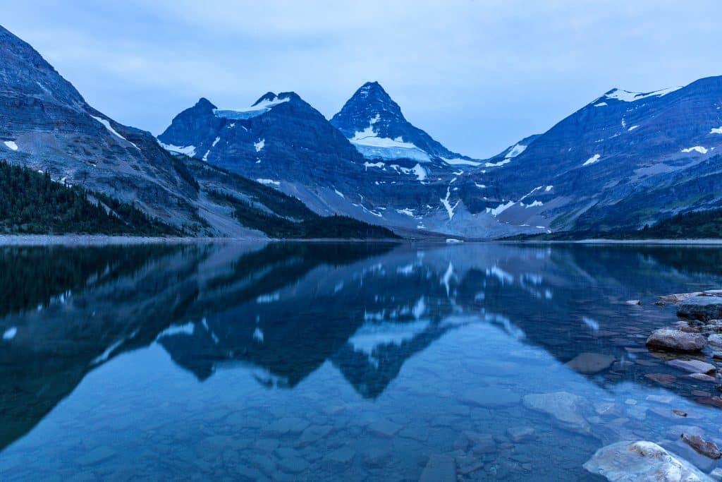 Lake Magog at Blue Hour