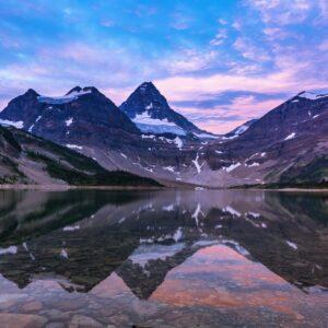 Magog Lake Reflections
